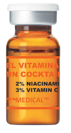 Vitamin Serum für Dermaroller gegen Dehnungsstreifen