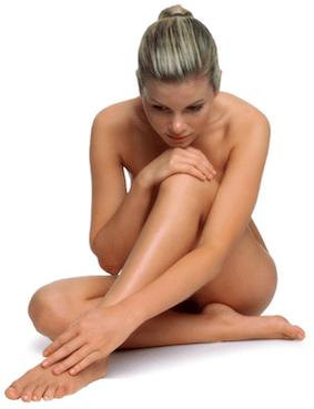 Anti-Cellulite Behandlung mit den Körperpflegeprodukten aus der Pflegelinie Mokzai von Utsukusy Cosmetics - ideal in der Kombination mit der Maderotherapie