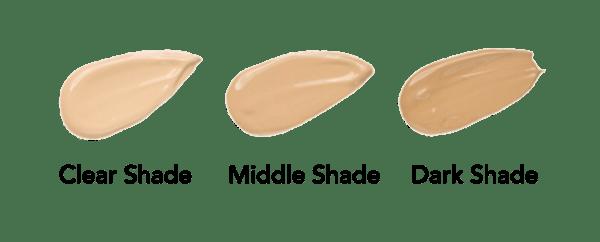 Unterschiedliche Farbtöne der BB Glow Seren von Utsukusy Cosmetics | Microneedling Seren